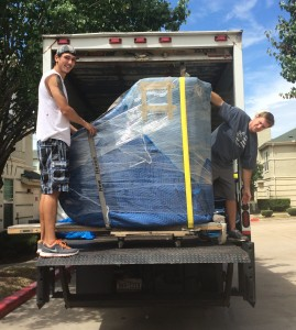 baby grand piano moving